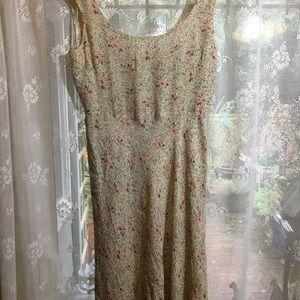 Ralph Lauren Long soft silk lined dress